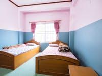 Pohkara Nepal volunteer bedroom