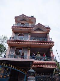 Pohkara Nepal volunteer house exterior