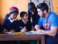 IVHQ Teaching English volunteer in Nepal