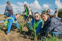 NZ Coastline Conservation and Education project volunteer