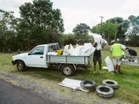 Coast and Waterway Conservation volunteers in New Zealand