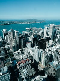 Exploring Auckland, New Zealand from above during an IVHQ weekend