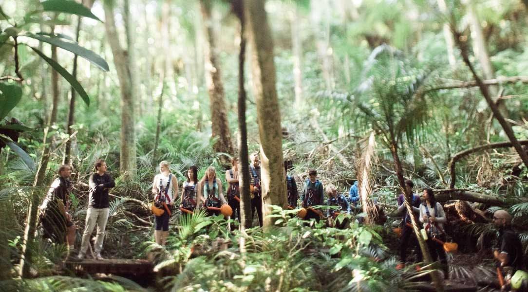 IVHQ volunteer weekend activities in New Zealand