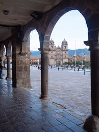 Exploring central Cusco in Peru with IVHQ