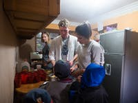IVHQ volunteers on childcare project in Cusco