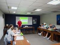 IVHQ volunteer orientation in Cusco, Peru