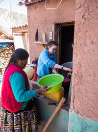 IVHQ volunteer on Andean Immersion project in Cusco, Peru