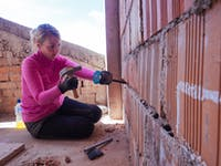 IVHQ volunteer on Construction and Renovation project in Cusco