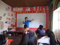 IVHQ volunteer on Teaching project in Cusco