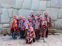 IVHQ volunteers in Cusco, Peru with IVHQ