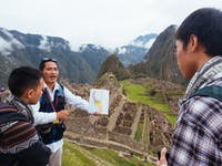 Machu Picchu tour in Cusco, Peru with IVHQ