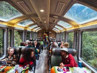 Train journey to Machu Picchu in Cusco, Peru with IVHQ