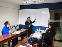 IVHQ volunteer Spanish class in Cusco, Peru