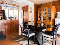 Volunteer dining room in Cusco, Peru with IVHQ