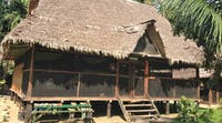 Jungle conservation dormitory accommodation