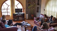 Volunteer accommodation in Peru - Cusco, communal Lounge