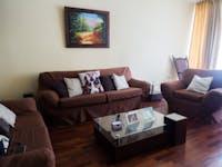 IVHQ volunteer living room in Lima, Peru