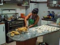 IVHQ volunteer kitchen in Lima, Peru