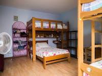 IVHQ volunteer bedroom in Lima, Peru