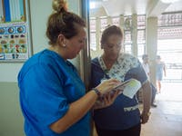 IVHQ volunteer on the Medical project in Lima