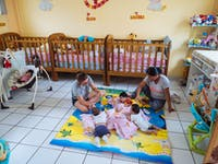 IVHQ volunteers on the Special Needs/Childcare project in Lima