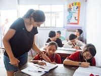 Teaching IVHQ volunteer in Lima