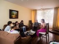 IVHQ volunteers at orientation in Lima