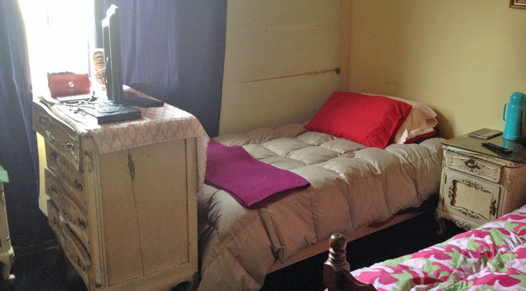 Example homestay accommodation in Lima