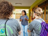 IVHQ volunteer orientation in Lima