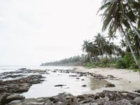 Exploring Palawan beach during an IVHQ weekend