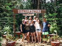 Exploring Estrella Falls during an IVHQ weekend in the Philippines