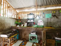 IVHQ volunteer house kitchen in the Philippines