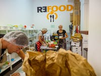 IVHQ volunteers on the Food Rescue project in Portugal
