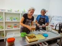 IVHQ volunteers on the Food Rescue project in Lisbon, Portugal