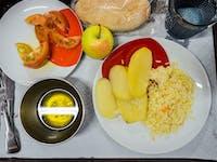 Typical IVHQ Volunteer dinner in Portugal