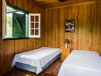 IVHQ Wolf Conservation project volunteer bedroom in Portugal