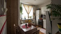 IVHQ Romania volunteer homestay Kitchen