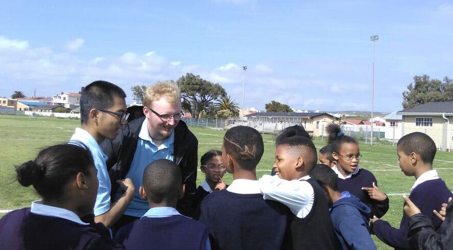 Conservation education in South Africa with IVHQ