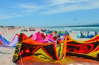 South Africa kite surfing in South Africa
