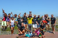 Holiday Club volunteers in South Africa with IVHQ