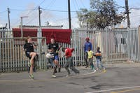 Sport Development volunteers in Table View, South Africa with IVHQ