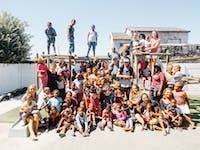 Group of IVHQ childcare volunteers in South Africa