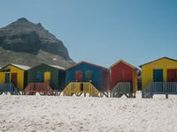 Muizenburg Beach in South Africa with IVHQ