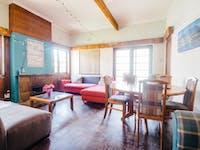 IVHQ South Africa volunteer living room