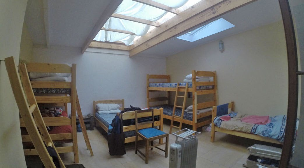 South Africa volunteer accommodation dormitory room