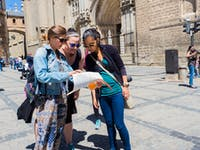 Volunteers exploring Toledo in Spain during an IVHQ weekend