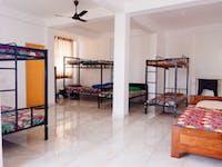 Volunteer house bedroom Kandy, Sri Lanka