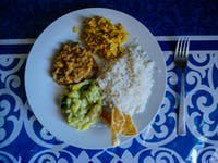 Volunteer Lunch with IVHQ in Sri Lanka