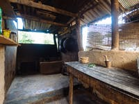 Volunteer house kitchen Sigiriya, Sri Lanka