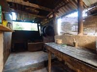 Volunteer house kitchen Sigiriya, Sri Lanka
